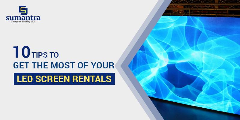 LED Screen Rentals