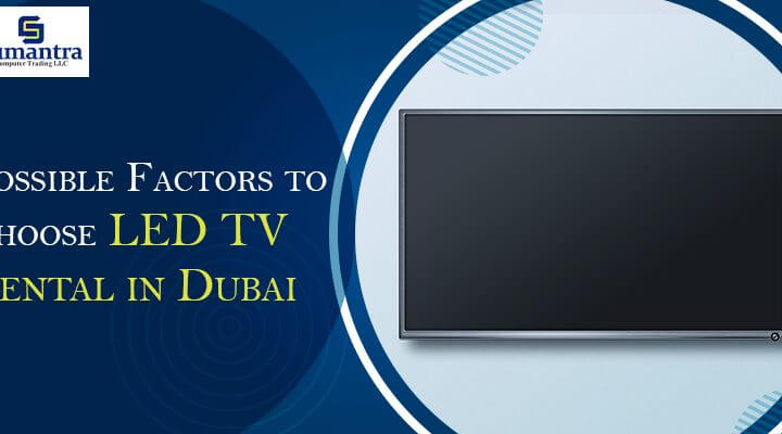 LED TV Rental in Dubai