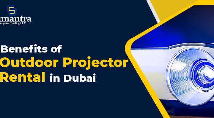 Outdoor Projector Rental
